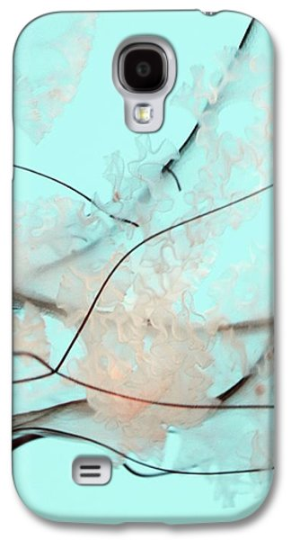 Teal Blue Pacific Sea Nettle Galaxy S4 Case by Marianna Mills