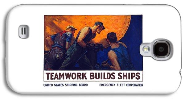 Teamwork Builds Ships Galaxy S4 Case