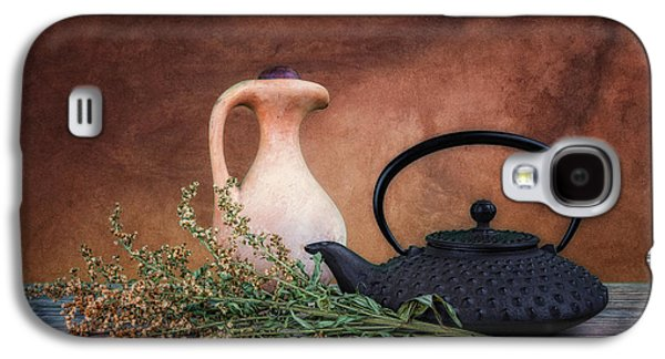 Teapot With Pitcher Still Life Galaxy S4 Case by Tom Mc Nemar