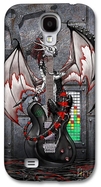Tech-n-dustrial Music Dragon Galaxy S4 Case by Stanley Morrison
