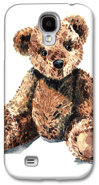 Teddy Bear Brown Bear Stuffed Animal Vintage Toy Steiff Galaxy S4 Case
