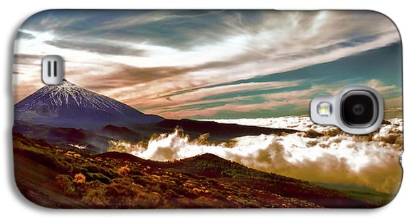 Teide Volcano - Rolling Sea Of Clouds At Sunset Galaxy S4 Case