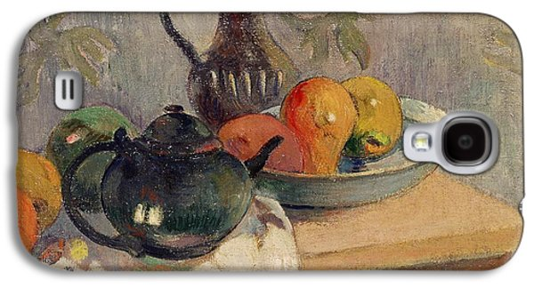 Teiera Brocca E Frutta Galaxy S4 Case by Paul Gauguin