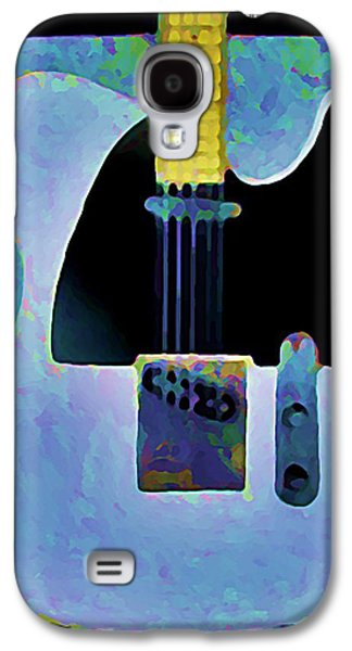 Tele  With Stripes Galaxy S4 Case by Gregory McLaughlin