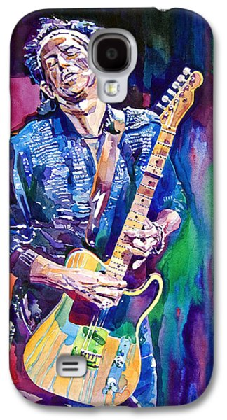 Musicians Galaxy S4 Case - Telecaster- Keith Richards by David Lloyd Glover