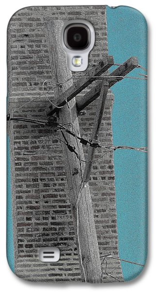 Telephonic 1 Galaxy S4 Case by Todd Sherlock