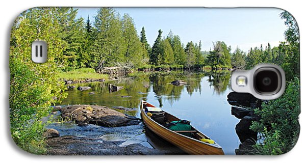 Temperance River Portage Galaxy S4 Case by Larry Ricker