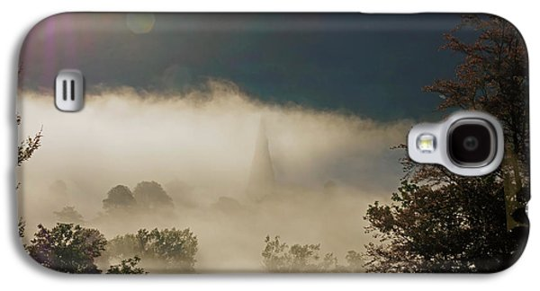 Temperature Inversion Traps Mist Over Ambleside Galaxy S4 Case by Louise Heusinkveld