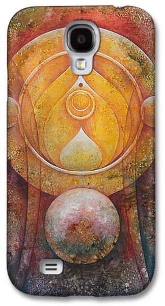 Temple #1 Galaxy S4 Case by Ellen Starr