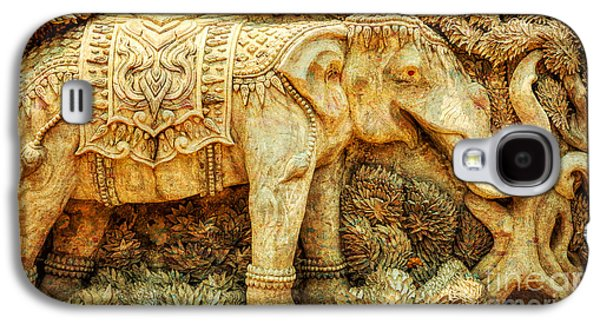 Temple Elephant Galaxy S4 Case by Adrian Evans