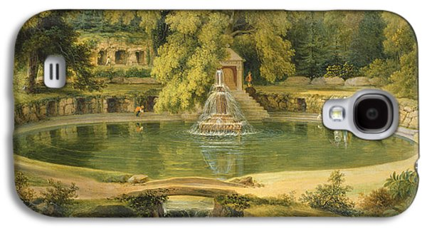 Temple Fountain And Cave In Sezincote Park Galaxy S4 Case