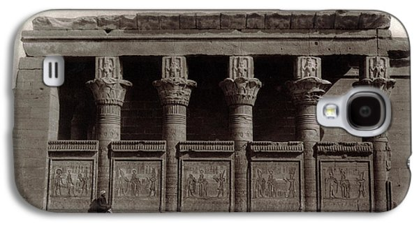 Temple Of Hathor, Early 20th Century Galaxy S4 Case