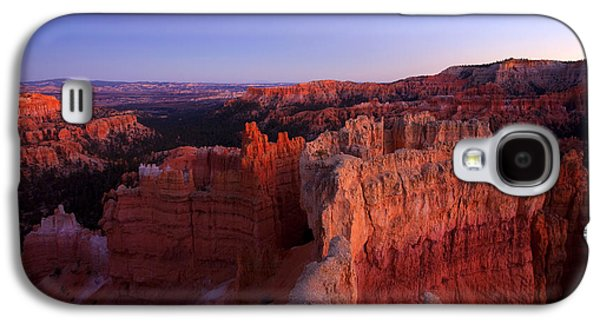 Temple Of The Setting Sun Galaxy S4 Case by Mike  Dawson