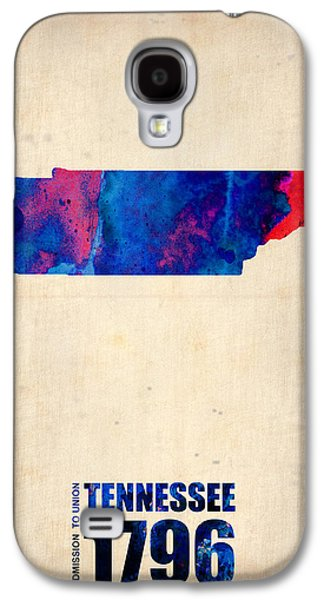 Tennessee Watercolor Map Galaxy S4 Case by Naxart Studio