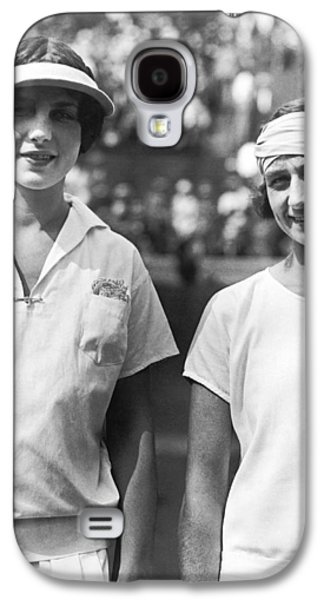 Tennis Champion Helen Wills Galaxy S4 Case by Underwood Archives