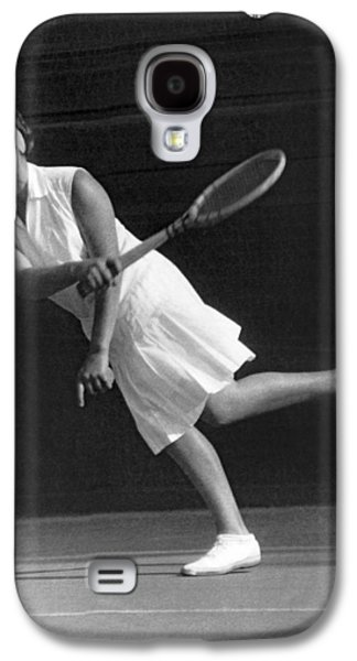 Tennis Champion Kitty Godfree Galaxy S4 Case by Underwood Archives