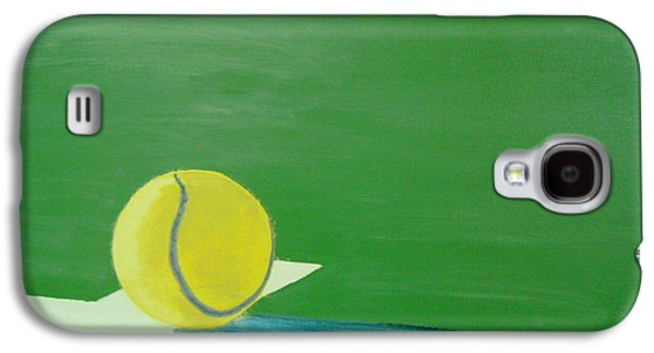 French Open Paintings Galaxy S4 Cases - Tennis Reflections Galaxy S4 Case by Ken Pursley