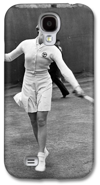 Tennis Star Katherine Stammers Galaxy S4 Case by Underwood Archives