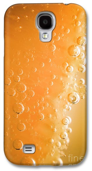 Tequila Sunrise Background Galaxy S4 Case