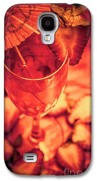 Tequila Sunrise Cocktail Galaxy S4 Case