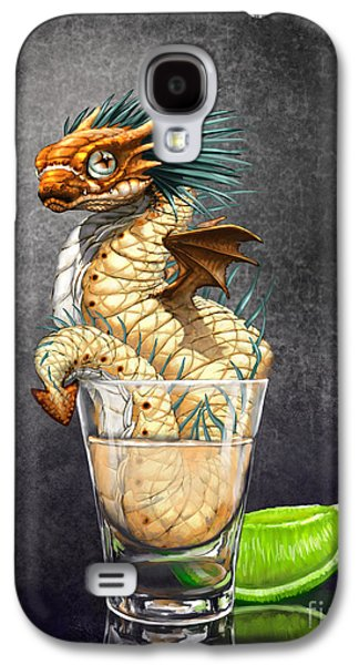 Dragon Galaxy S4 Case - Tequila Wyrm by Stanley Morrison