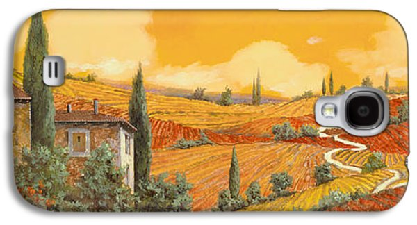 terra di Siena Galaxy S4 Case by Guido Borelli