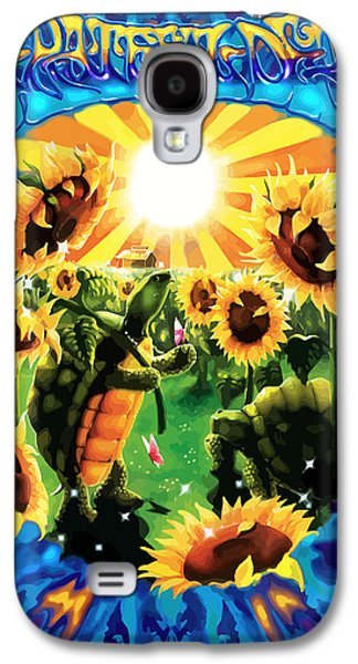 Terrapin Sun Flowers Galaxy S4 Case