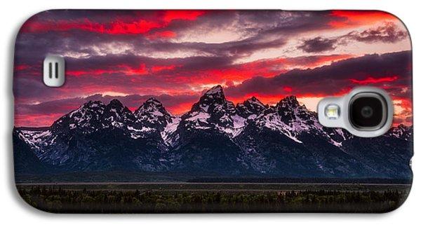 Teton Sunset Galaxy S4 Case by Darren White
