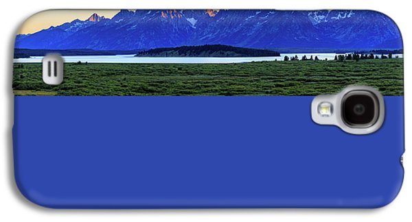 Galaxy S4 Case featuring the photograph Teton Sunset by David Chandler