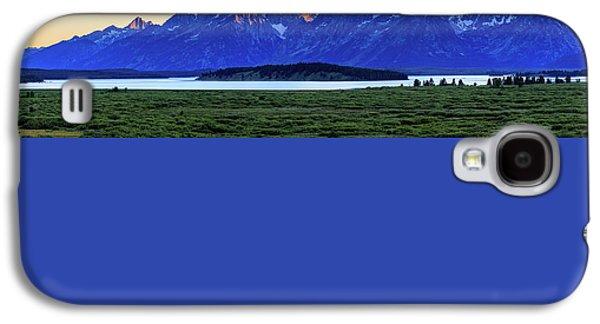 Teton Sunset Galaxy S4 Case by David Chandler