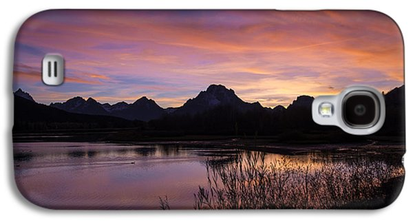Teton Sunset Galaxy S4 Case