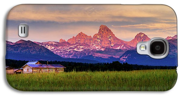 Teton Valley Sunset Galaxy S4 Case by TL  Mair
