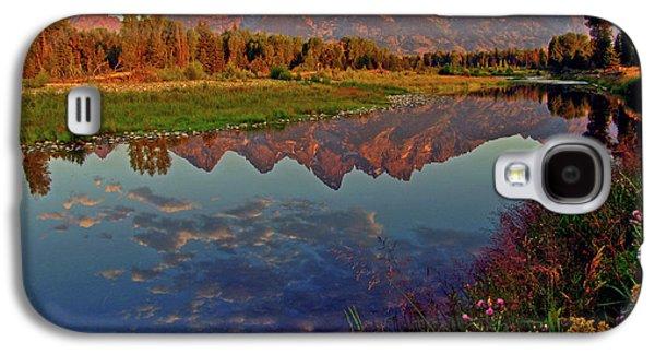 Mountain Galaxy S4 Case - Teton Wildflowers by Scott Mahon