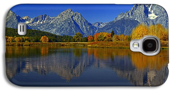 Tetons From Oxbow Bend Galaxy S4 Case