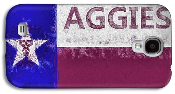 Texas Aggies State Flag Galaxy S4 Case by JC Findley