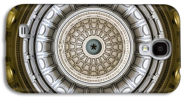 Capitol Building Galaxy S4 Case - Texas Capitol Dome by Stephen Stookey