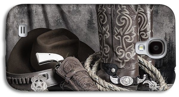 Texas Lawman Galaxy S4 Case by Tom Mc Nemar