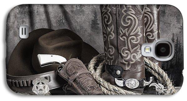 Texas Lawman Galaxy S4 Case by Tom Mc Nemar