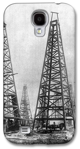 Texas: Oil Derricks, C1901 Galaxy S4 Case