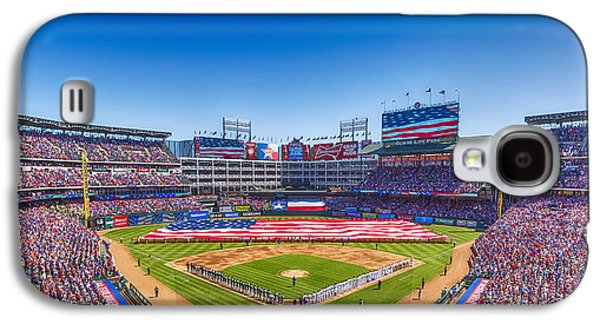 Texas Rangers Opening Day 2016 Galaxy S4 Case