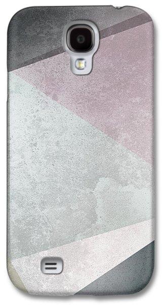 Textured Geometric Triangles Galaxy S4 Case