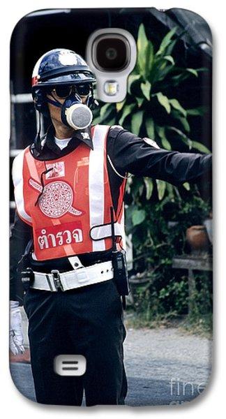 Thai Traffic Officer Galaxy S4 Case