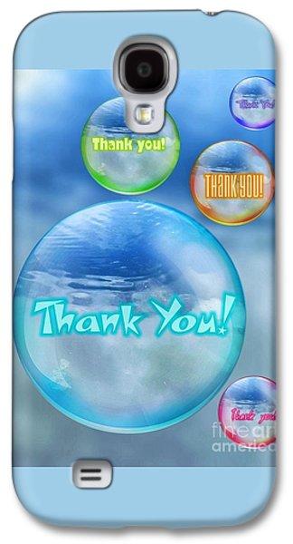 Thank You Bubbles Galaxy S4 Case