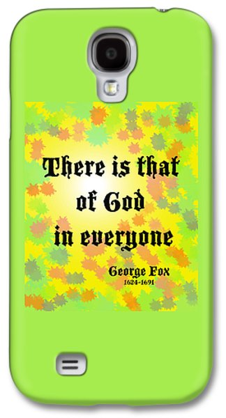 That Of God Galaxy S4 Case