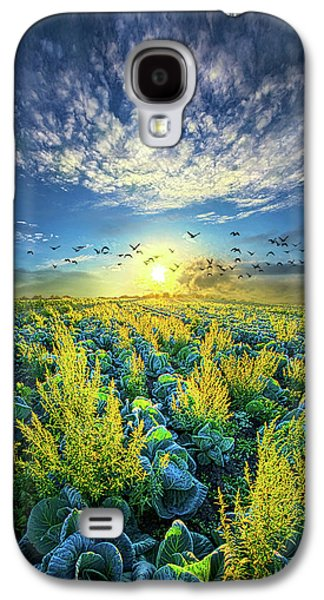 That Voices Never Shared Galaxy S4 Case by Phil Koch