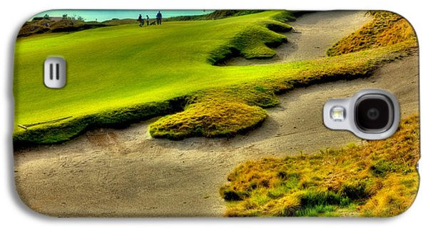 The #1 Hole At Chambers Bay Galaxy S4 Case by David Patterson