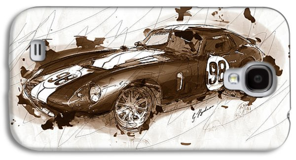 The 1965 Ford Cobra Mustang Galaxy S4 Case