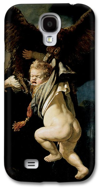 The Abduction Of Ganymede Galaxy S4 Case by Rembrandt