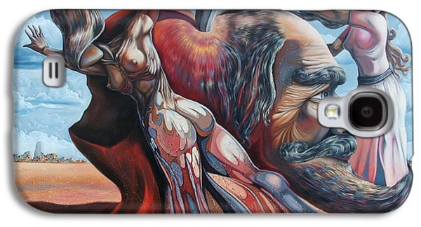 The Adam-eve Delusion Galaxy S4 Case by Darwin Leon