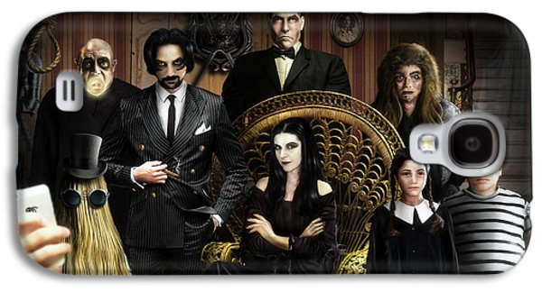 The Addams Family Galaxy S4 Case by Alessandro Della Pietra